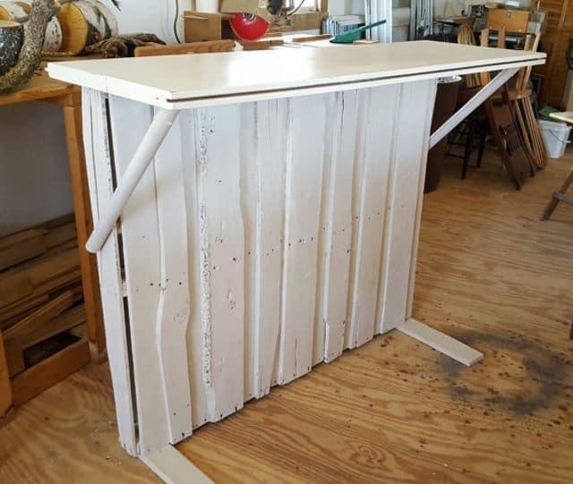 Wooden Patio Bar