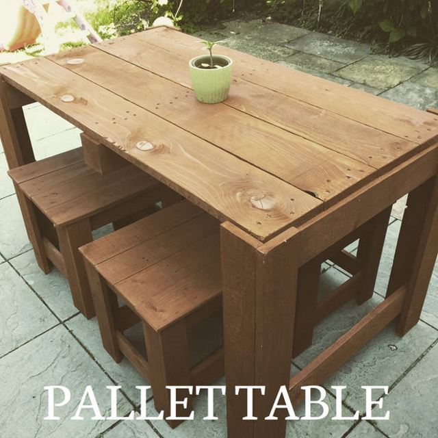 Pallet Table Source