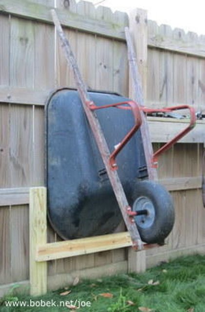Wheelbarrow Storage Ideas: 9 Ways to Get Organized