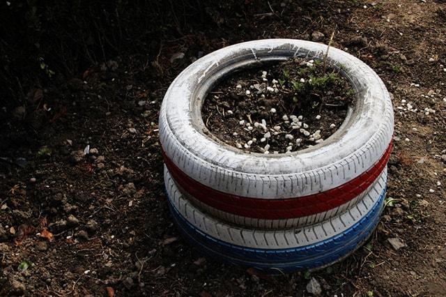 Deep Tire Pots