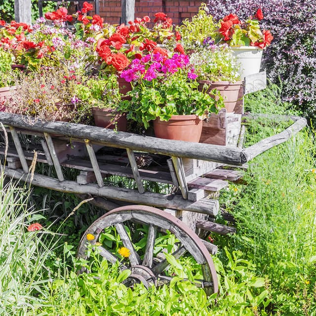 This Model Is More Of A Garden Cart, Given Its Larger Size. Really, The  Bigger The Better In This Case Because The Larger The Wheelbarrow Or Cart  Basin, ...