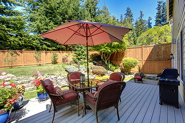 Backyard Deck Design Ideas best 25 backyard deck designs ideas on pinterest backyard decks deck design ideas Small Backyards Shouldnt Dictate Your Deck Dimensions Flower Gardens Take Part Of The Overall Landscape As Part Of A Potted Selection Of Color And