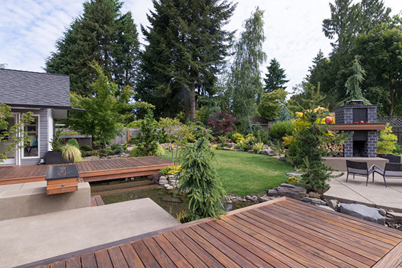 Who Said Your Deck Had To Be All One Piece? Integrate Your Deck Into Your  Landscape To Provide Unique Sitting Areas Surrounded By The Many Designs  And ...