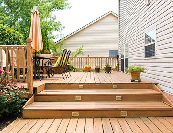 Backyard Wood Deck 74 wooden deck design ideas for you to chill out on
