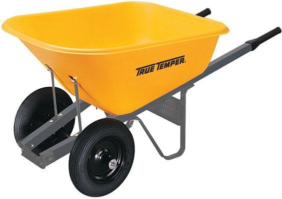True Temper 6 Cubic Foot Wheelbarrow