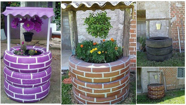 31 Of The Best Tire Planter Ideas