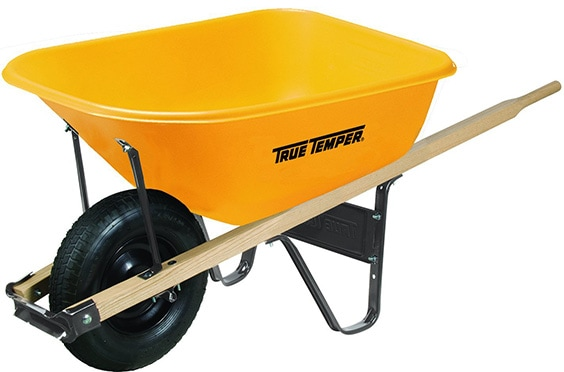 plastic wheelbarrow