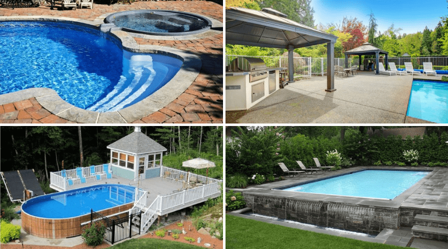 16 Beautiful Pool Patio Designs Ideas