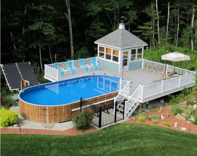 Backyard Pool Deck Ideas 16 beautiful pool patio designs & ideas
