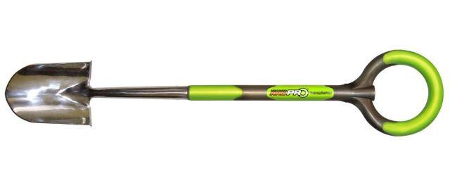 Radius Garden 208 PRO Ergonomic Stainless Steel Mini-Round Shovel