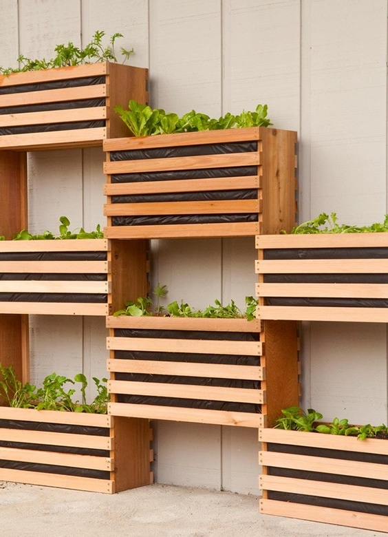 Space Saving Vertical Vegetable Garden