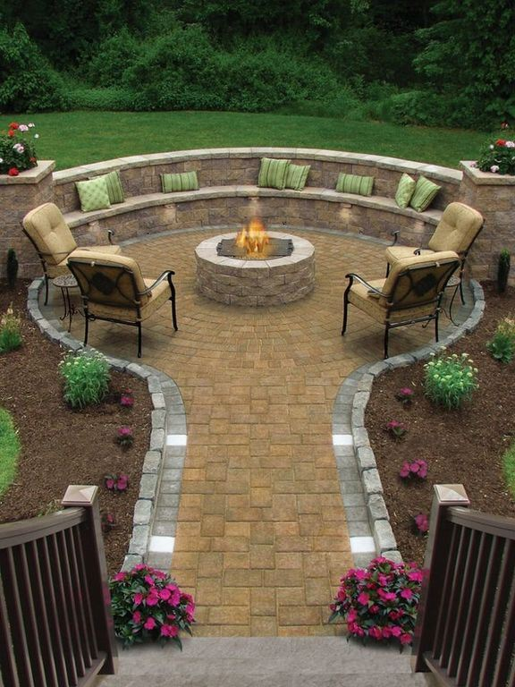 74 Amazing Fire Pit Ideas: #37 Is Stunning!
