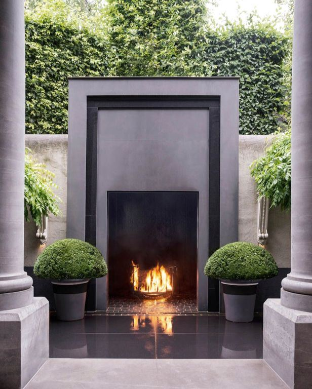 High Structured Fire Pit
