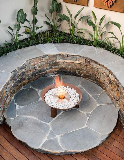 Platform Fire Pit
