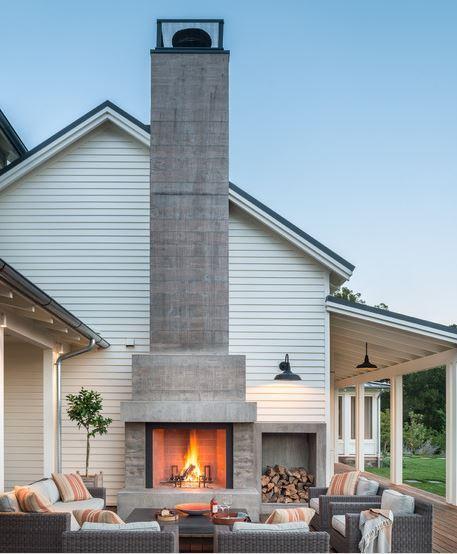 Porch Chimney