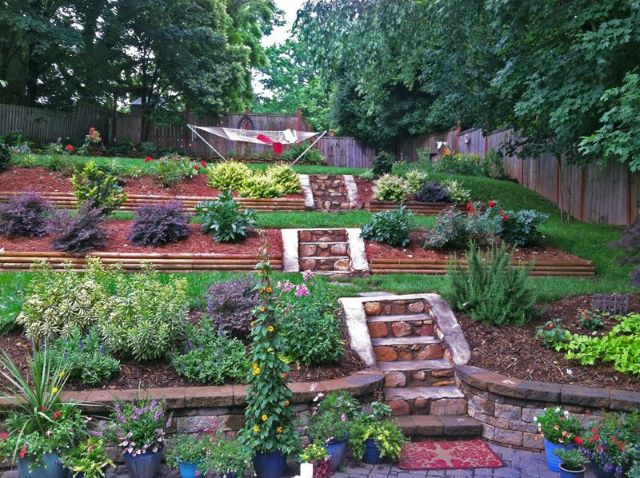 Tiered Backyard Landscaping Ideas 95 stunning retaining wall ideas