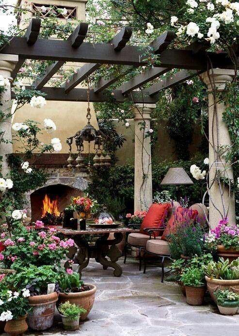 Romantic Garden Getaway