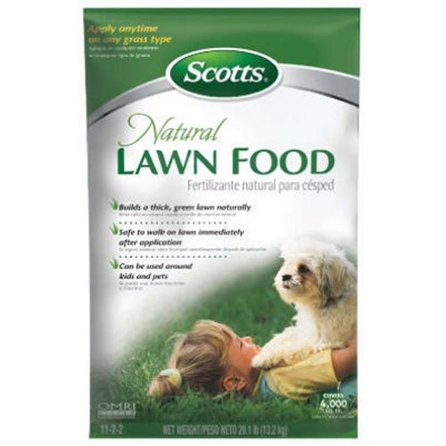 Scott's Natural Lawn Food