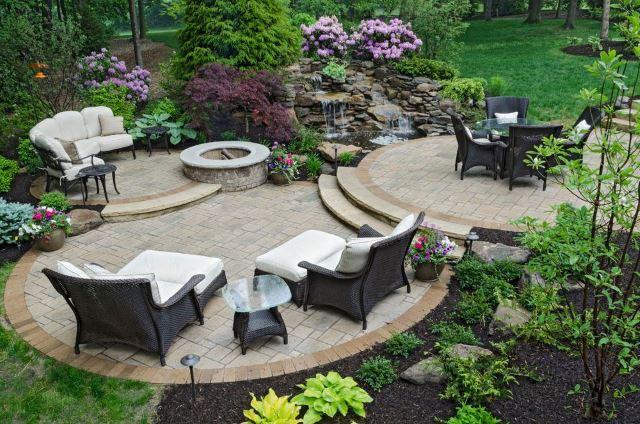 Stone Garden Floors