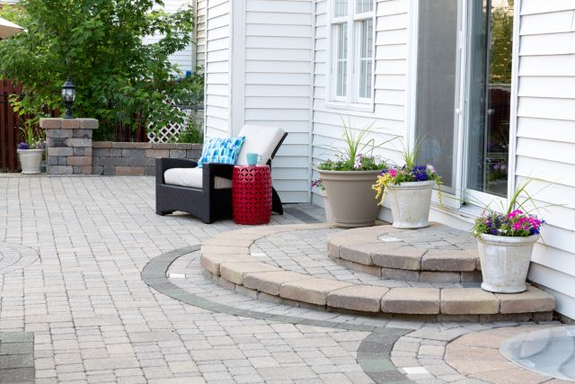 awesome yard paving designs #Brick #Patio #BrickPatioDesign