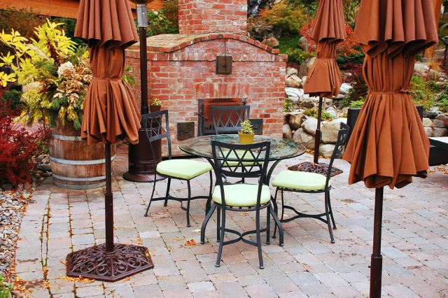 stunning square paver patio designs #Brick #Patio #BrickPatioDesign