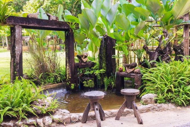 Water Features Can Provide The Perfect Property Border. When Combined With  Living, Vegetative U0027fencesu0027 And Open Structures, You Also Provide The  Illusion Of ...