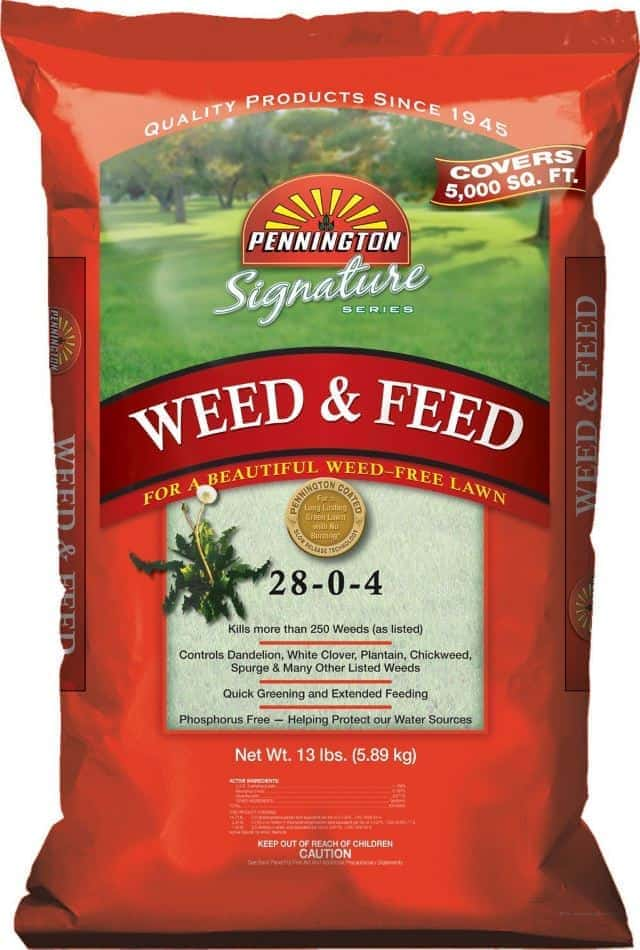 Pennington Signature Series Weed and Feed Northern Fertilizer