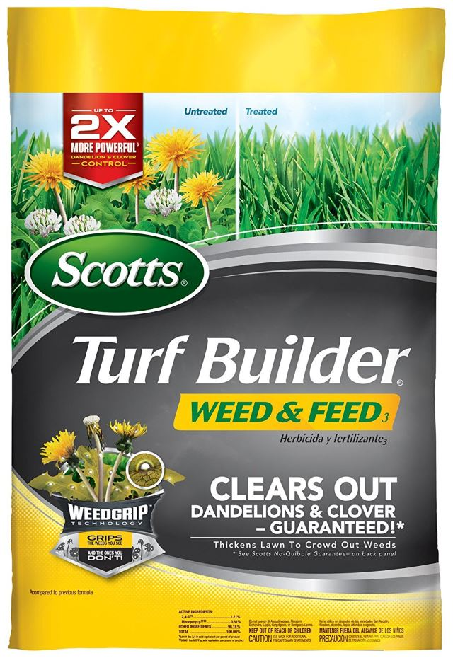 Scotts Turf Builder Weed and Feed Fertilizer
