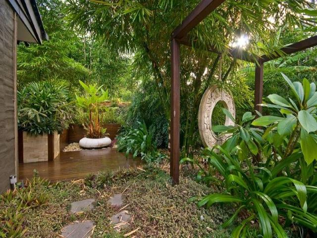 Themed Tropical Garden
