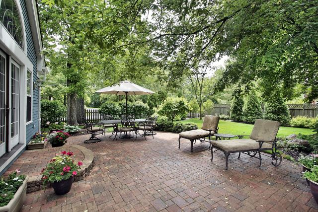 stunning yard pavers #Brick #Patio #BrickPatioDesign