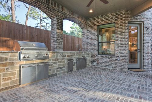Awesome All Brick Patio