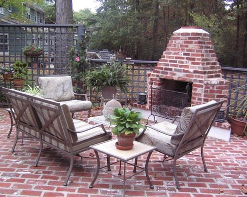 56 Brick Patio Design Ideas: #37 is Stunning! on Small Brick Patio Ideas id=17333