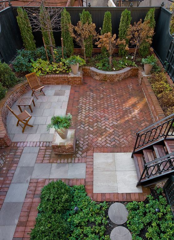 stunning sidewalk pavers #Brick #Patio #BrickPatioDesign