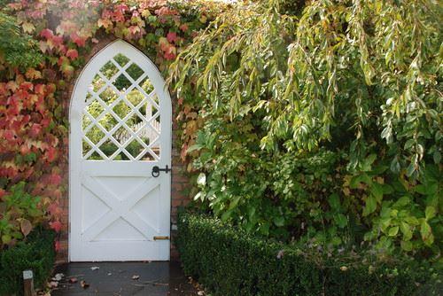 Fall Garden Gate