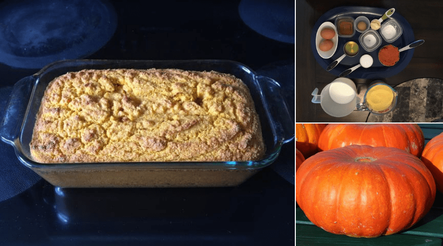 Featured Image - FRESH PUMPKIN CORNBREAD RECIPE