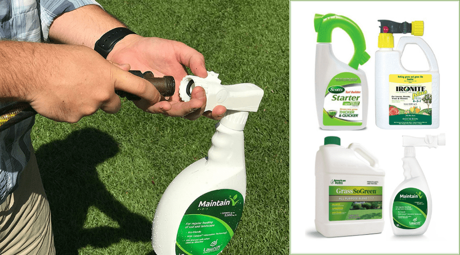 Best Liquid Lawn Fertilizer Reviews 2019