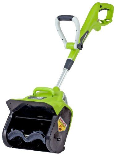GreenWorks 26012 8-Amp 12-Inch Corded Snow Thrower