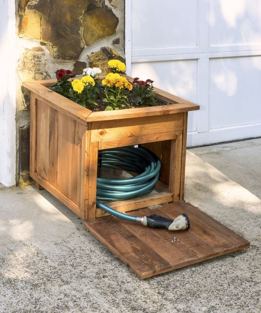 Hose Holder and Planter