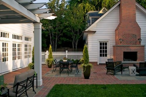 amazing rustic brick patio #Brick #Patio #BrickPatioDesign