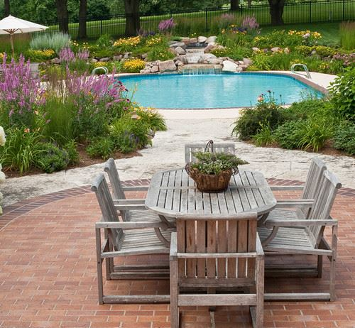 awesome round paver patio designs #Brick #Patio #BrickPatioDesign