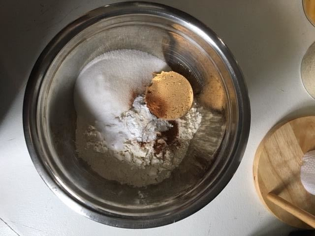 Combined Dry Ingredients