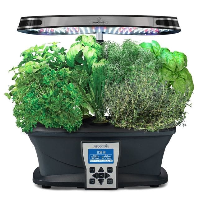 AeroGarden-Ultra-LED-with-Gourmet-Herb-Seed-Pod-Kit