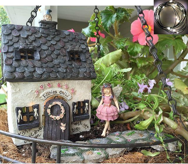 fairy garden kit - Indoor Fairy Garden