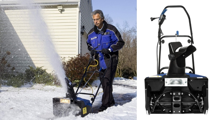 Featured Image - SOME OF THE BEST SNOW JOE SNOW BLOWER REVIEWS