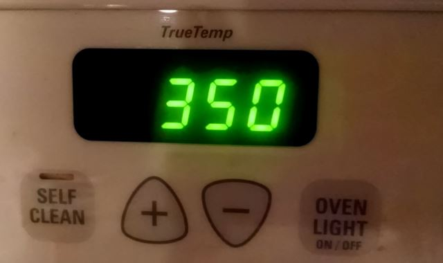 Pre-Heat Oven