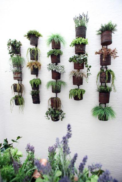 Tiny Wall Planters