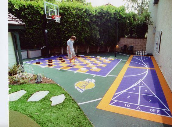 35 Of The Best Backyard Court Ideas