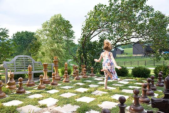 Outdoor Chess Set