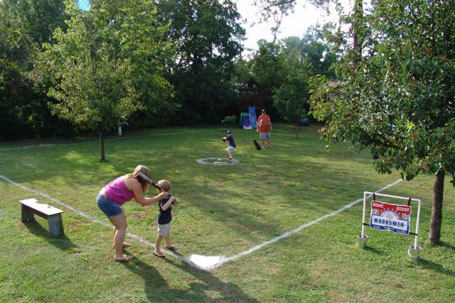 Mini Baseball Court