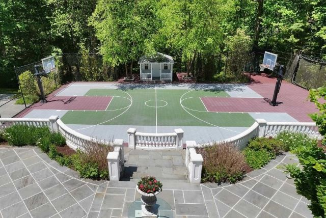 Grand Basketball Court